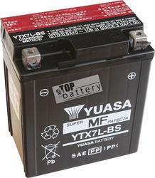 Motobaterie YUASA YTX7L-BS, 12V, 6Ah - 1