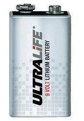 Baterie ULTRALIFE U9VL-J-P, 9V, 1200mAh (Lithium-Thionychlorid) - 1