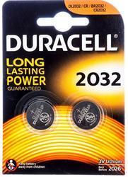 Baterie Duracell CR2032, Lithium, 3V, (Blistr 2ks)