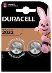 Baterie Duracell CR2032, Lithium, 3V, (Blistr 2ks) - 1