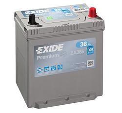 Autobaterie EXIDE Premium, Carbon Boost, 12V, 38Ah 300A, EA386 - 1