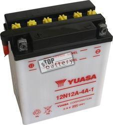 Motobaterie YUASA 12N12A-4A-1, 12V, 12Ah - 1
