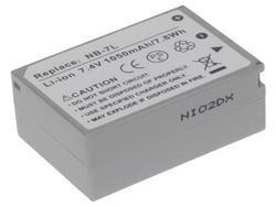 Baterie Canon NB-7L, 7,2V (7,4V), 1050mAh, Li-ion