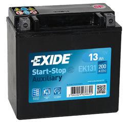 Autobaterie EXIDE Start-Stop Přídavná (Auxiliary), 12V, 13Ah, 200A, EK131 - 1