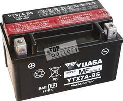 Motobaterie YUASA YTX7A-BS, 12V, 6Ah - 1