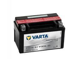 Motobaterie VARTA YTX7A-BS, 6Ah, 12V