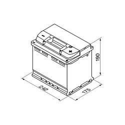 Autobaterie VARTA Silver Dynamic 63Ah, 12V, 610A, (D15) - 1