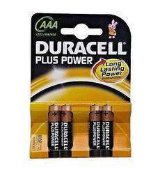 Baterie Duracell Plus Power MN2400, AAA, (Blistr 4ks) - 1
