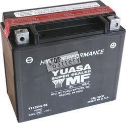 Motobaterie YUASA YTX20L-BS, 12V, 18Ah - 1