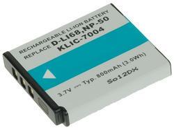 Baterie Fujifilm NP-50, Kodak KLIC-7004, Pentax D-LI68 3,6V (3,7V), 800mAh