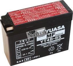Motobaterie YUASA YT4B-BS, 12V, 2,3Ah - 1