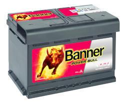 Autobaterie Banner Power Bull P72 09, 72Ah, 12V, 660A (P7209) - 1
