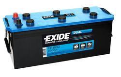 Trakční baterie EXIDE DUAL, 12V, 140Ah, 750A, ER660