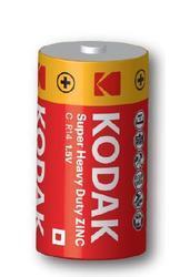 Baterie Kodak R14, C, Zinc-Chloride, 1,5V, 1ks  - 1