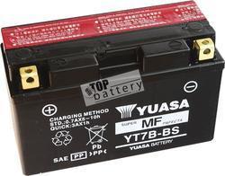 Motobaterie YUASA YT7B-BS, 12V, 6,5Ah - 1