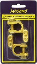 Akusvorka 2ks blistr Autolamp, bateriová svorka (+/-)