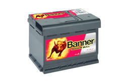 Autobaterie Banner Power Bull P60 09, 60Ah, 12V, 540A (P6009)