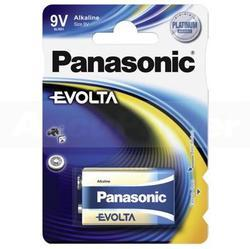 Baterie Panasonic Evolta Alkaline, 6LR61, 9V, (Blistr 1ks) - 1
