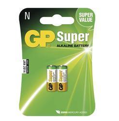 Baterie GP CR1, LR1, N, 910A, Alkaline, nenabíjecí, fotobaterie, (Blistr 2ks) - 1