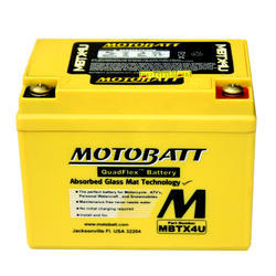 Motobaterie Motobatt MBTX4U, 12V, 4,7Ah, 70A (YB4L-B, YB4L-A,YTX4L) - 1