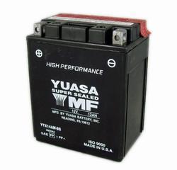 Motobaterie YUASA YTX14AH-BS, 12V, 12Ah - 1