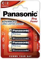 Baterie Panasonic Pro Power, LR14, C, (Blistr 2ks) - 1