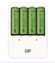 Nabíječka baterií GP nabíječka baterií PB420 + 4xAA GP ReCyko+ 2500mAh - 1