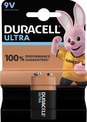 Baterie Duracell Ultra Power MX1604, 9V, alkaline (Blistr 1ks)
