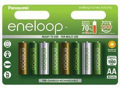 Baterie Panasonic Eneloop Botanic, HR6, AA, 3MCCE, 1900mAh, (Blistr 8ks) - 1
