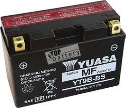Motobaterie YUASA YT9B-BS, 12V, 8Ah - 1