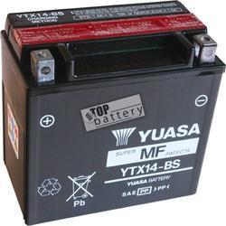 Motobaterie YUASA YTX14H-BS, 12V, 12Ah