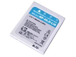 Baterie Fujifilm NP-40, 3,6V (3,7V), 800mAh, 3Wh