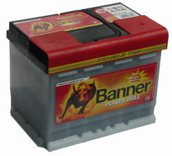 Autobaterie Banner POWER BULL PROfessional P63 40, 63Ah, 12V, 600A (P6340) - 1