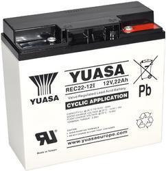 Trakční baterie Yuasa REC22-12I (12V/22Ah) - 1