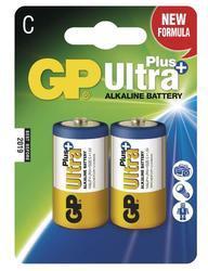 Baterie GP 14AUP Ultra Plus Alkaline, R14, C, (Blistr 2ks) - 1