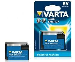 Baterie Varta High Energy 4918, 4LR61, 6V, Alkaline, (Blistr 1ks) - 1