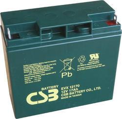 Akumulátor (baterie) CSB EVX12170, 12V, 17Ah, šroubová spojka, M5 - 1