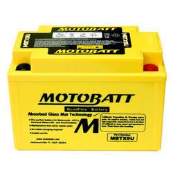Motobaterie Motobatt MBTX9U, 12V, 10,5Ah, 160A (YTX9-BS, YT12A-BS, YTZ12S, YTZ14S) - 1