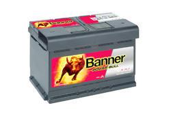 Autobaterie Banner Power Bull P74 12, 74Ah, 12V, 680A (P7412) - 1