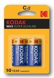 Baterie Kodak Max LR14, C, 1,5V, Alkaline, (Blistr 2ks)  - 1