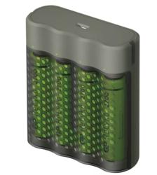 Nabíječka baterií GP Speed M451 + 4× AA ReCyko 2700, 1604845112  - 1