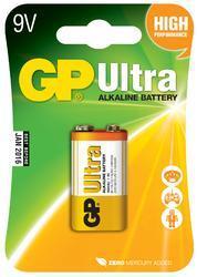 Baterie GP 1604AU Ultra Alkaline, 9V, (Blistr 1ks) - 1
