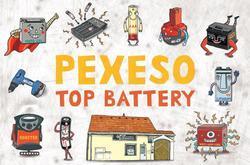 Naučné Pexeso Top Battery, Limitovaná edice     - 1