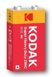 Baterie Kodak 6F22, 9V, Zinc-Chloride, 9V, 1ks  - 1