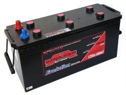 Autobaterie Sznajder HD 125Ah, 12V, startovací proud 690A - 1