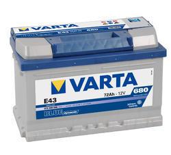 Autobaterie VARTA BLUE Dynamic 72Ah, 12V (E43) - 1