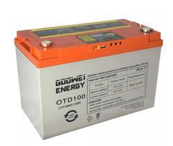 Trakční (gelová) baterie Goowei OTD100-12, 100Ah, 12V ( VRLA ) - 1