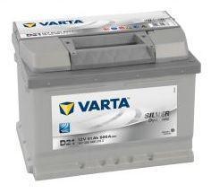 Autobaterie VARTA Silver Dynamic 61Ah, 600A, 12V (D21) - 1