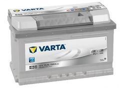 Autobaterie VARTA Silver Dynamic 74Ah, 12V, 750A, (E38) - 1