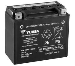 Motobaterie YUASA YTX20H-BS, 12V, 18Ah